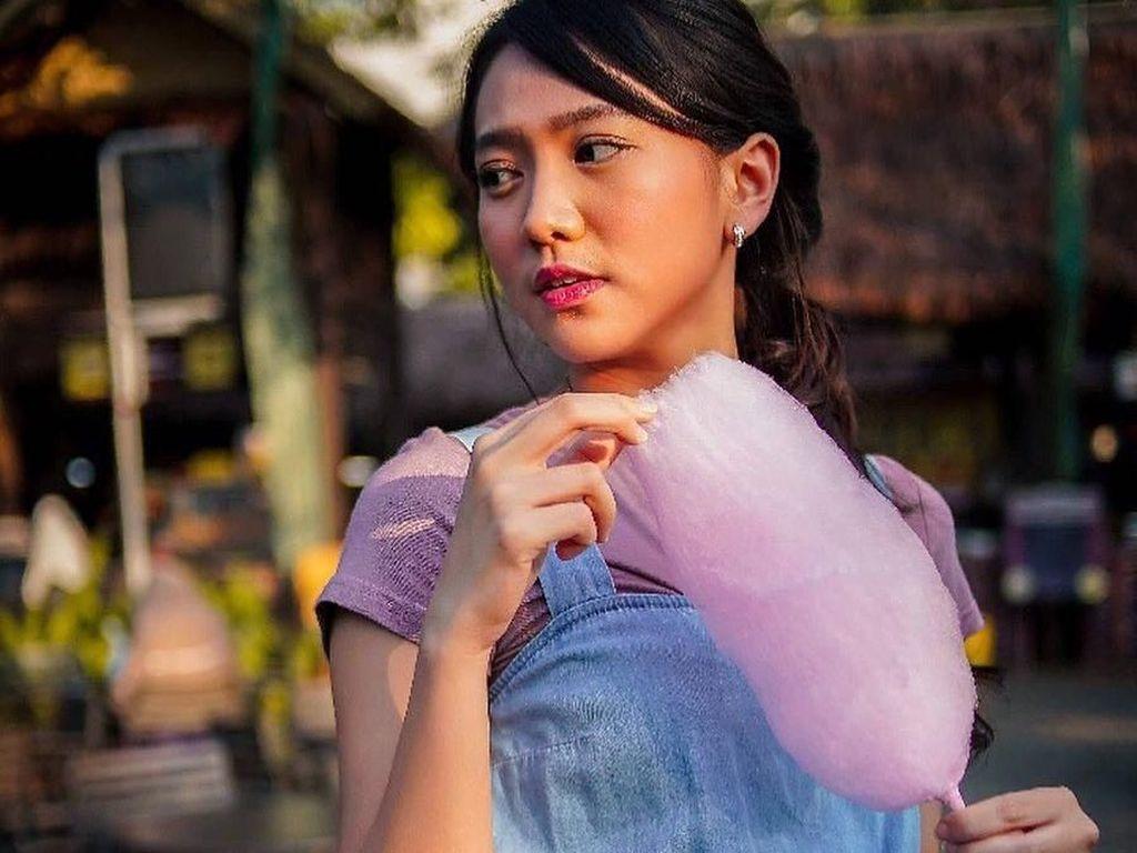 Kulineran Jadi Hobi Si Cantik Shanju yang Baru Lulus JKT 48