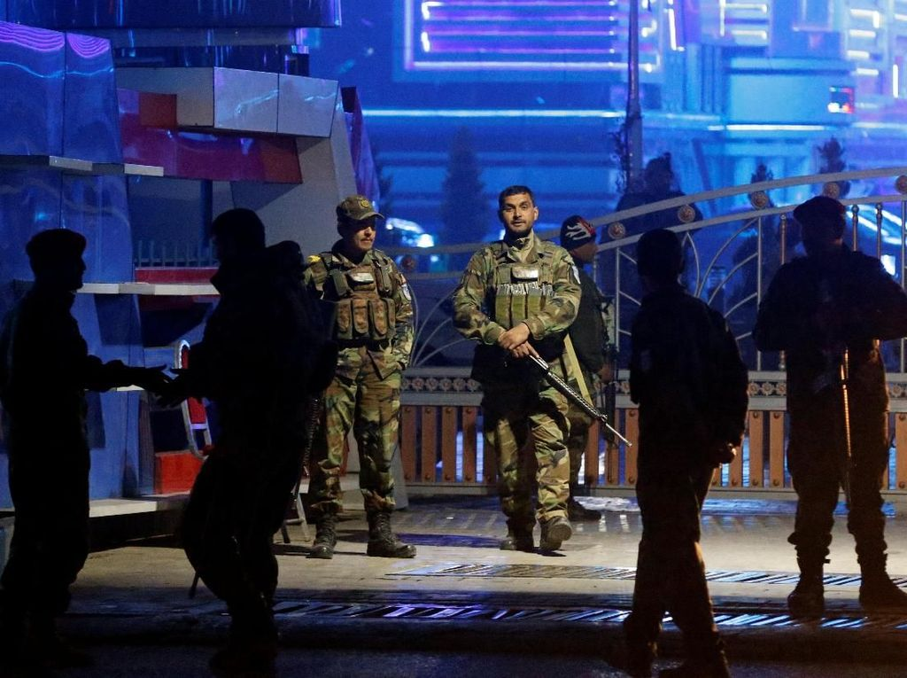 Bom Meledak Usai Presiden Afganistan Umumkan Perundingan Damai