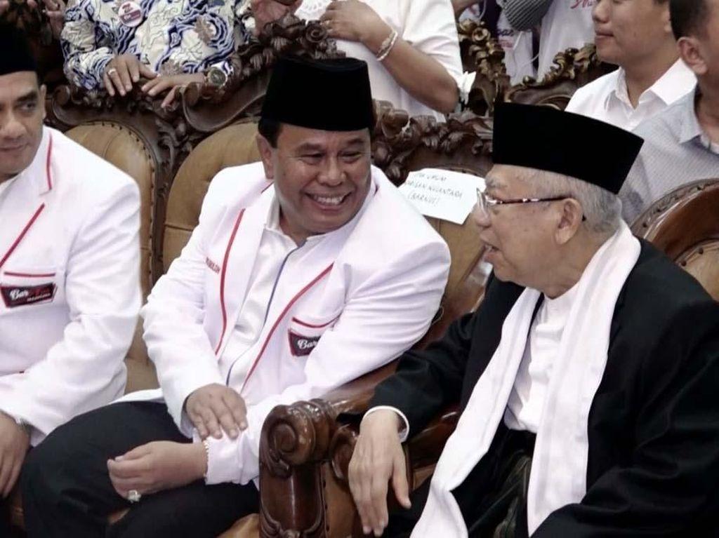 Maruf Amin Hadiri Pelantikan DPD Barisan Nusantara