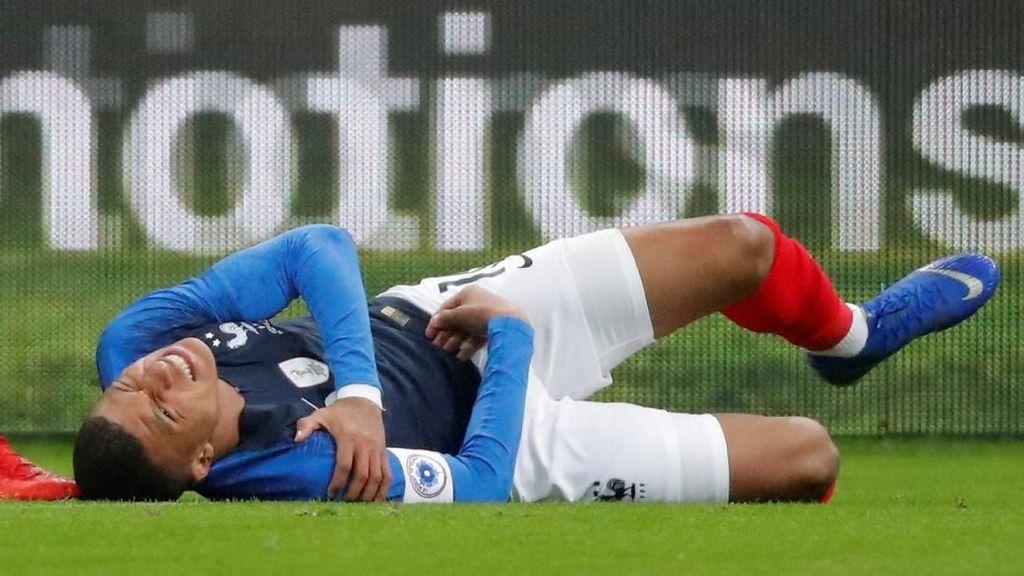Tak Cuma Neymar, Mbappe Juga Cedera