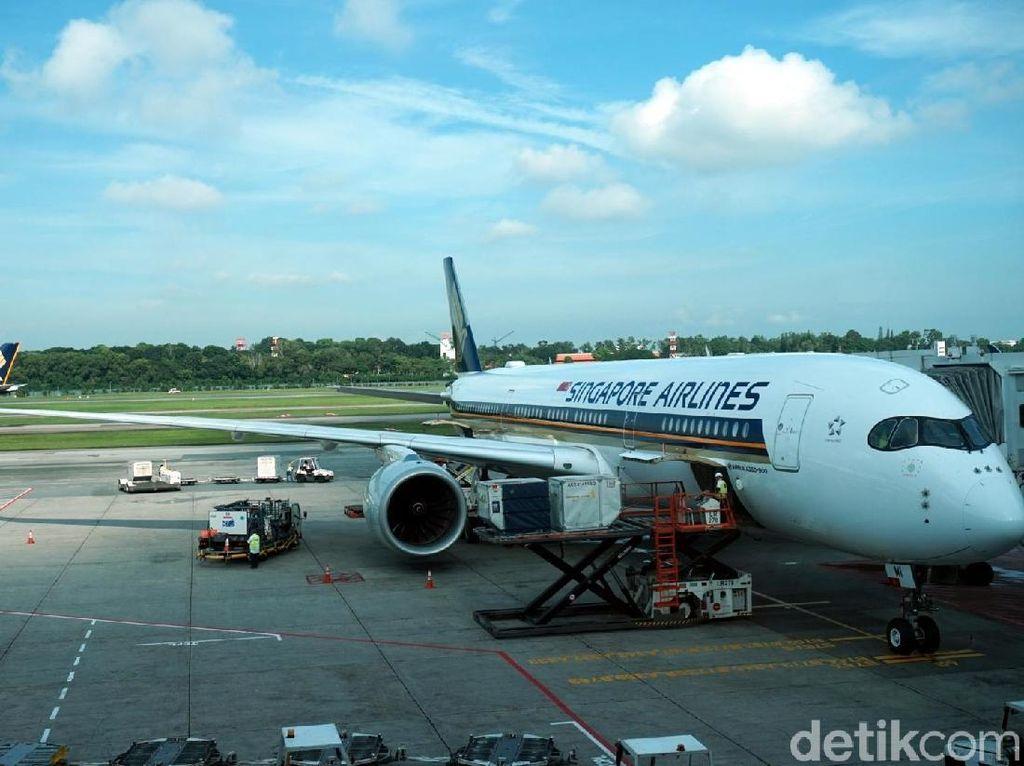 Foto: Pengalaman Terbang dengan Airbus A350-900 Baru