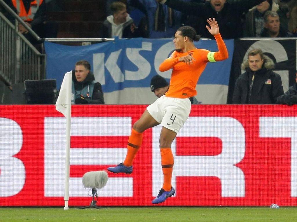 Cerita Van Dijk Jadi Penyerang Dadakan Belanda Lawan Jerman
