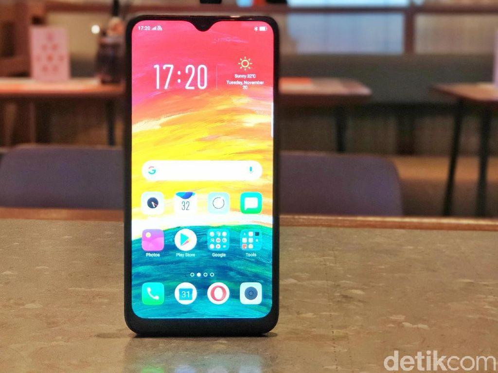 Oppo A7 RAM 3GB Dirilis, Harganya Saingi Galaxy M20