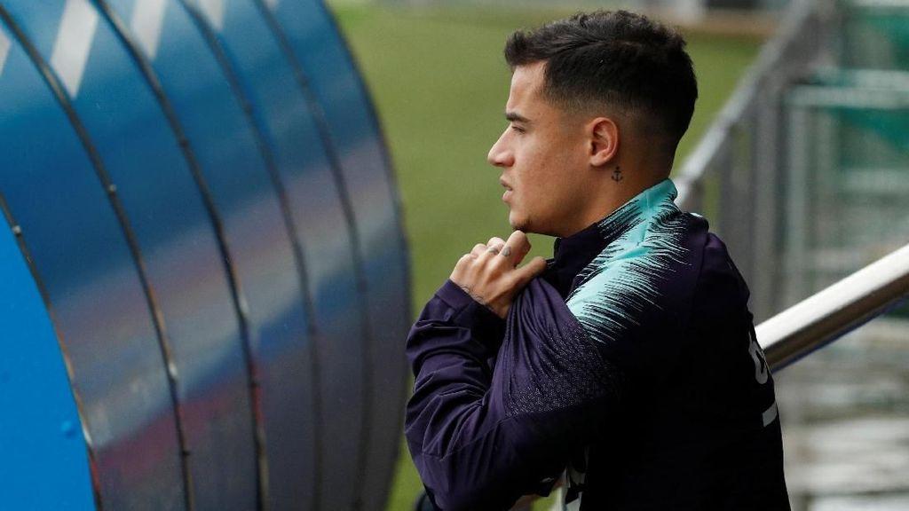 Coutinho Berpotensi Comeback Lawan Atletico