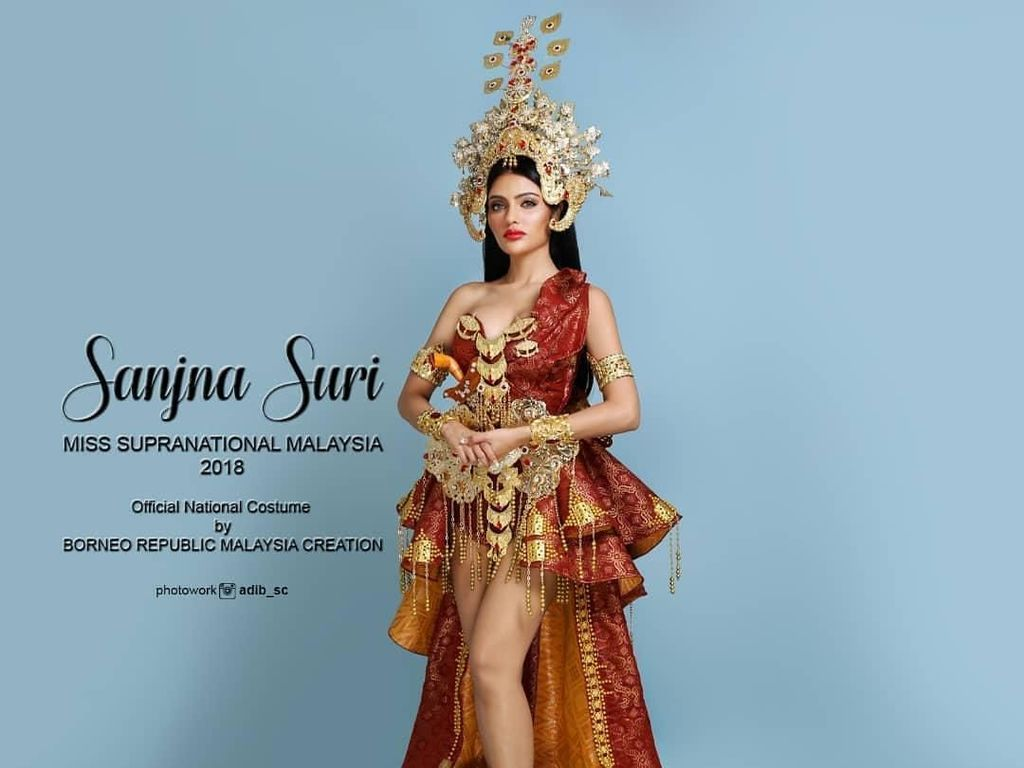 Jadi Srikandi, Ratu Kecantikan Malaysia Dianggap Contek Budaya Indonesia