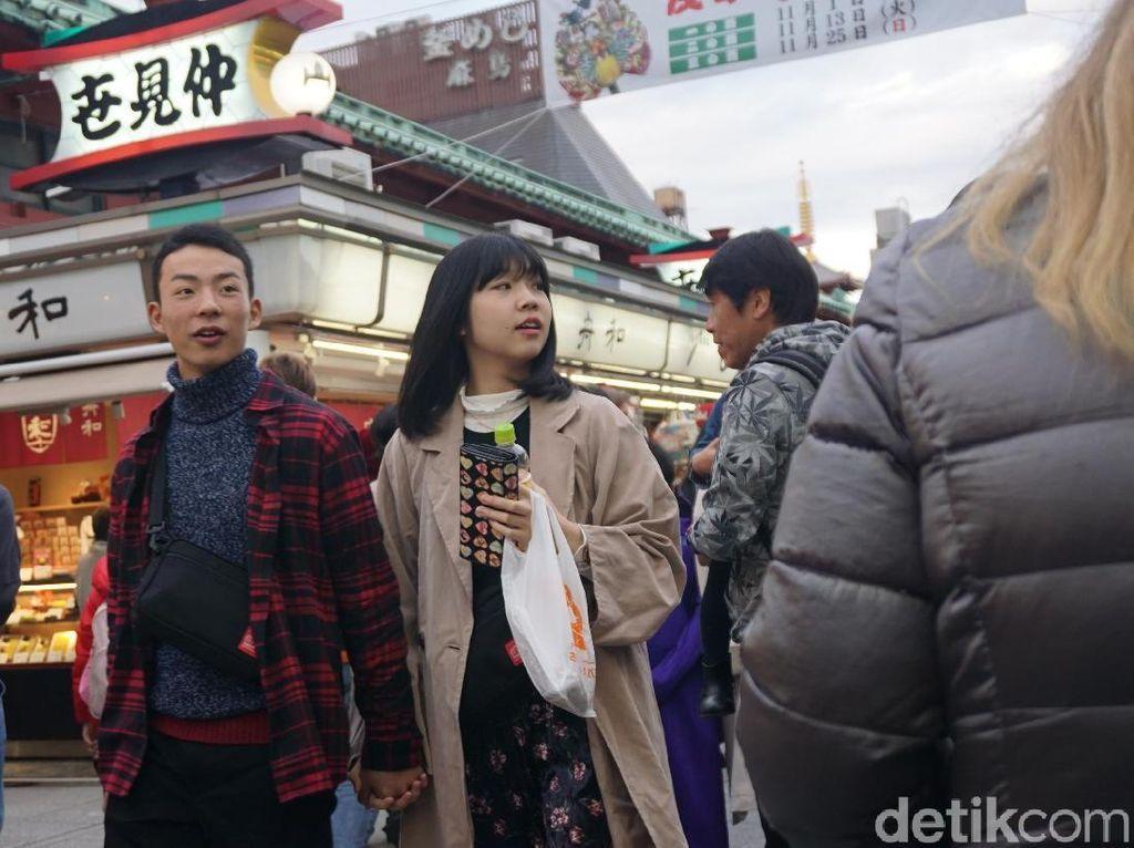 Ini Buktinya Orang Jepang Suka Jalan Kaki