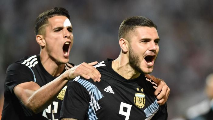 Mauro Icardi masih mungkin tampil di Copa America 2019 (Amilcar Orfali/Getty Images)