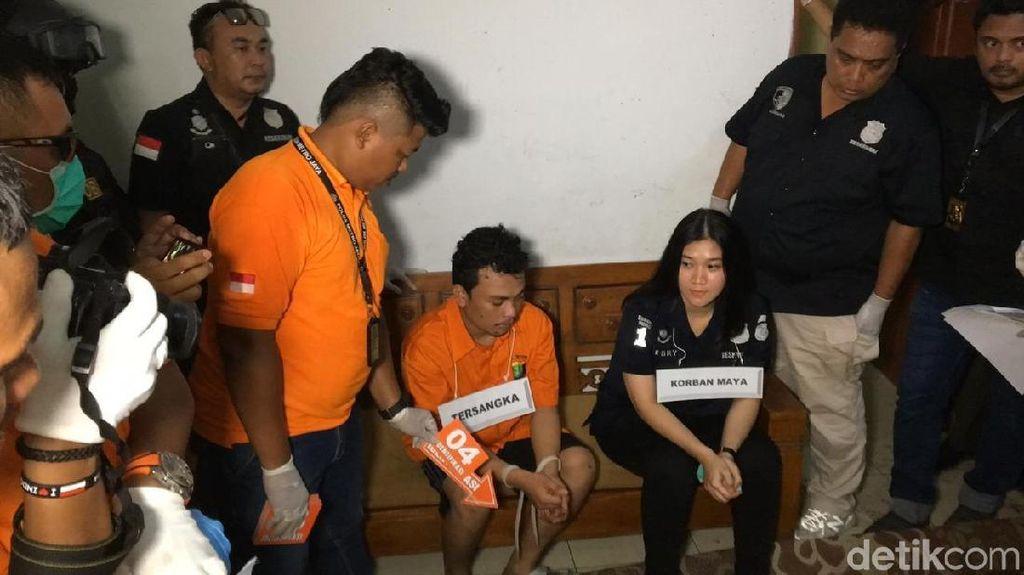 Begini Suasana Rekonstruksi Pembunuhan Satu Keluarga di Bekasi
