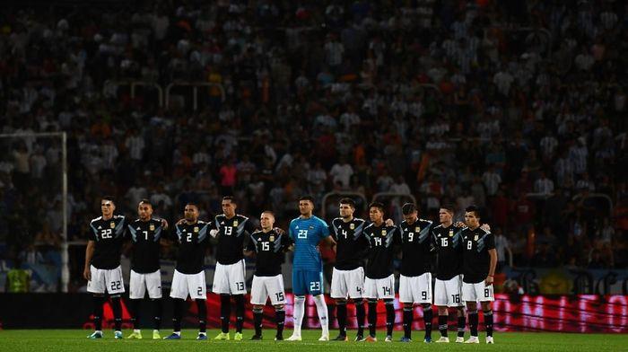 Rapor menjanjikan Argentina tanpa Lionel Messi. (Foto: Amilcar Orfali/Getty Images)