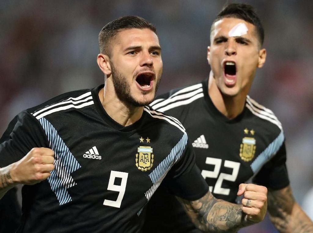Argentina Umumkan Skuat Copa America 2019, Tak Ada Nama Icardi