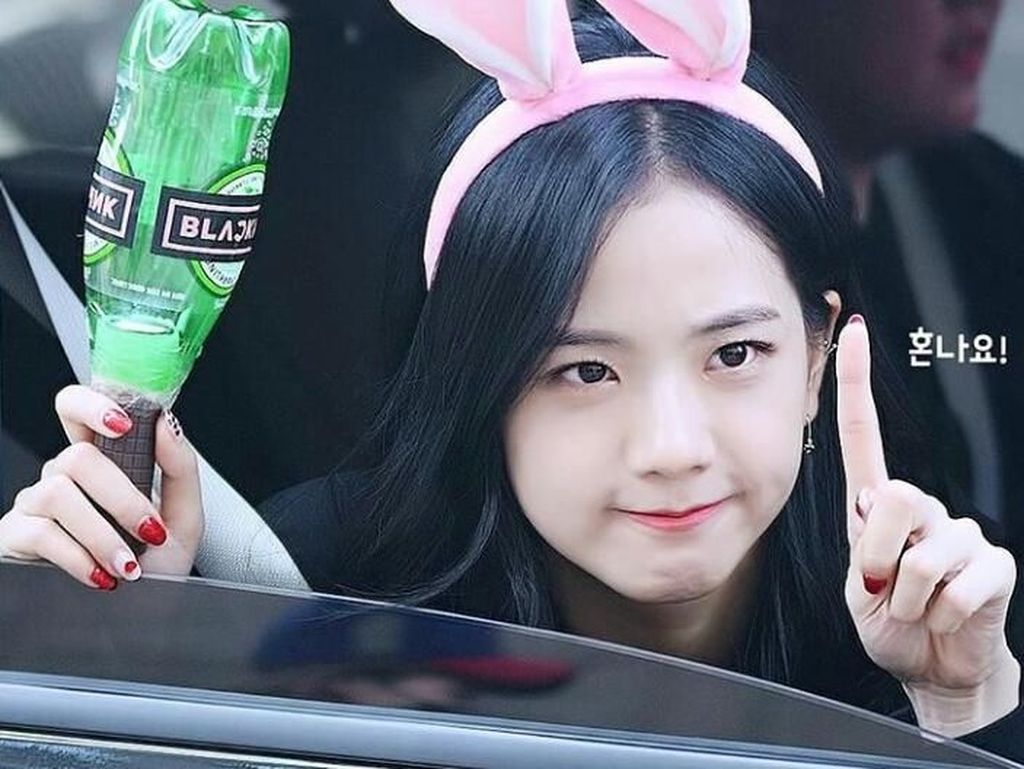 Cantiknya Jisoo Black Pink yang Ternyata Hobi Makan