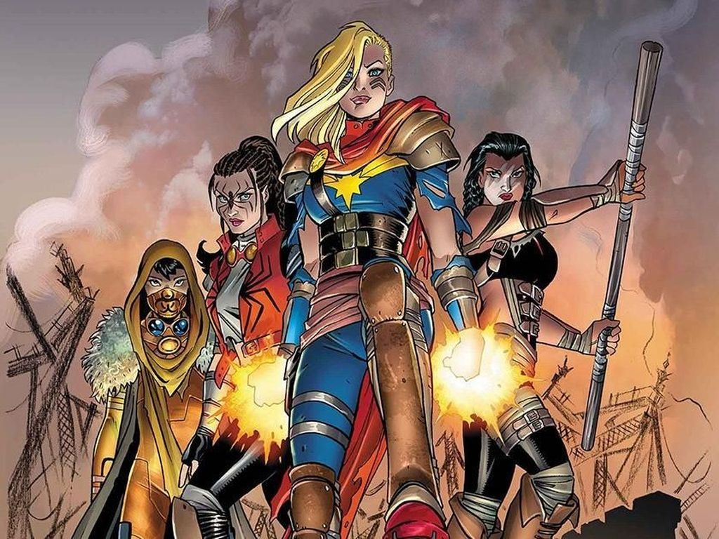 Penulis Komik Captain Marvel Bocorkan Kostum Spider-Woman dan Hazmat
