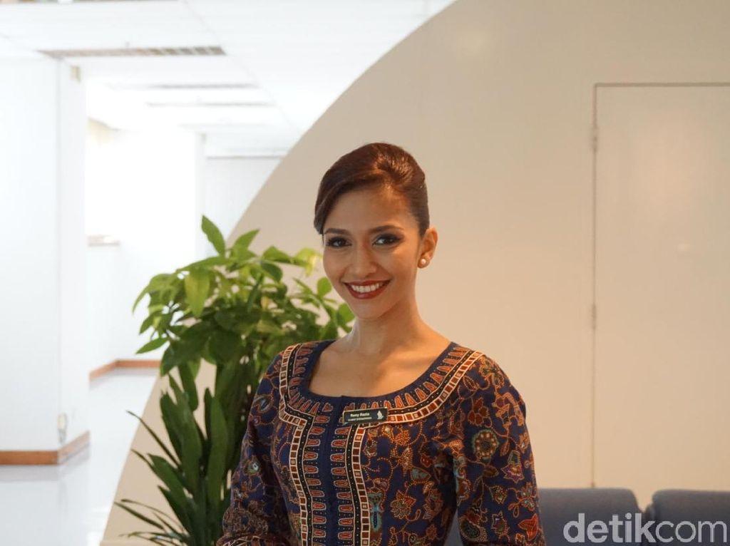 Cantiknya Pramugari Singapore Airlines Asal Indonesia Ini