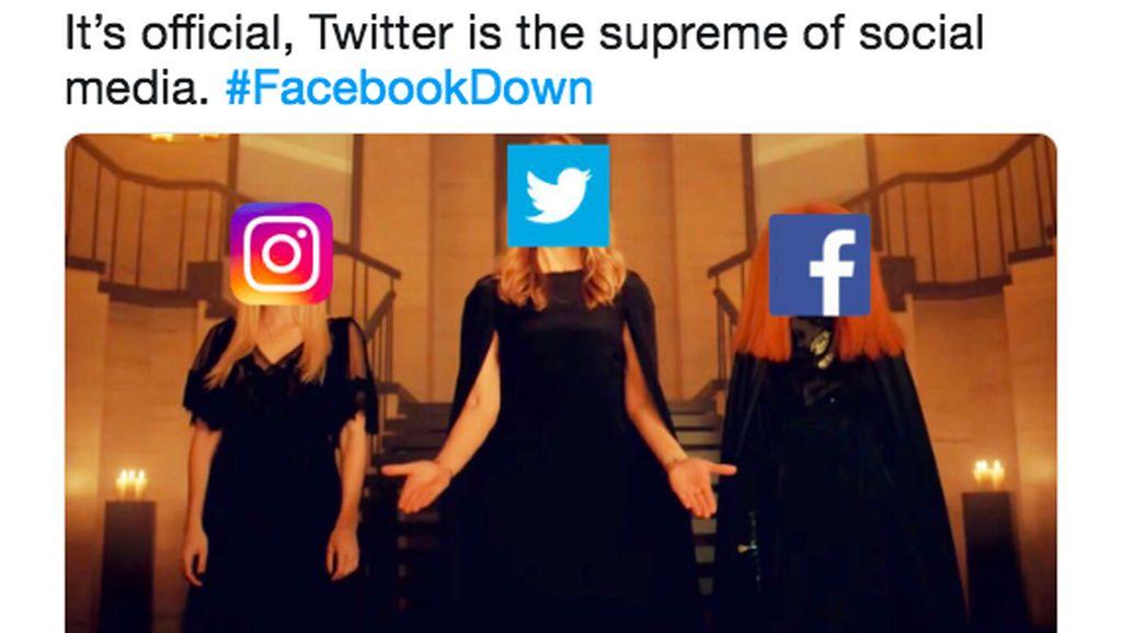 Meme-meme Facebook dan Instagram Tumbang
