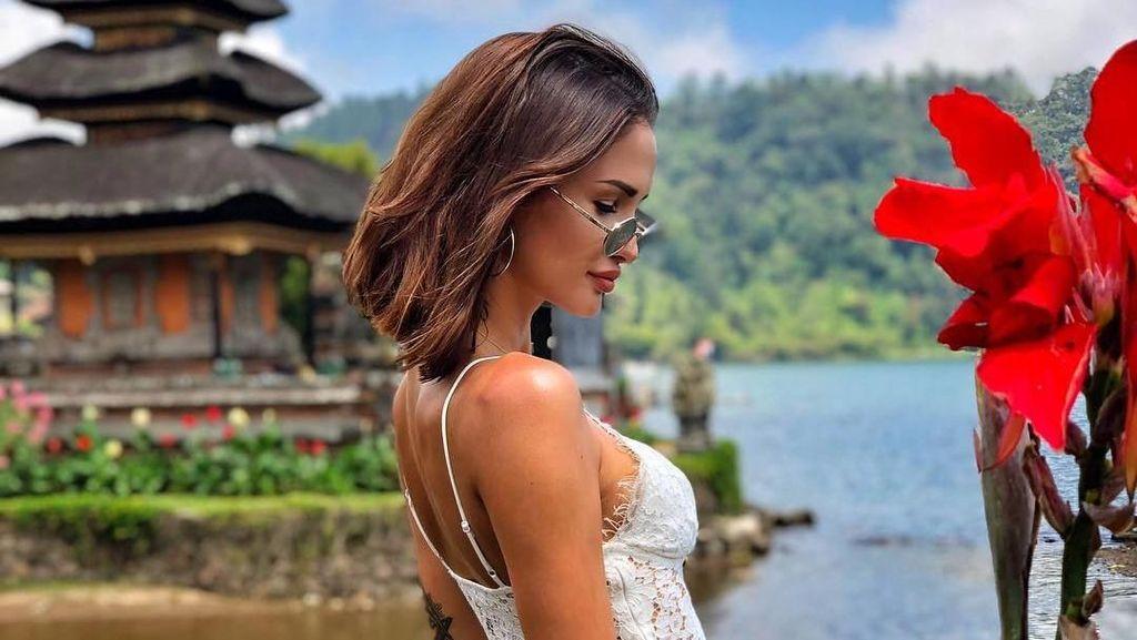 Foto: Liburannya Model Rusia Sekaligus DJ Terseksi di Bali