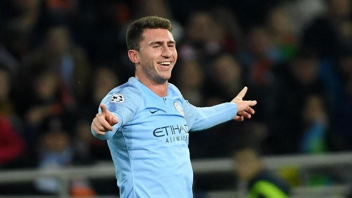 Pemain Manchester City, Aymeric Laporte. (Foto: Mike Hewitt/Getty Images)
