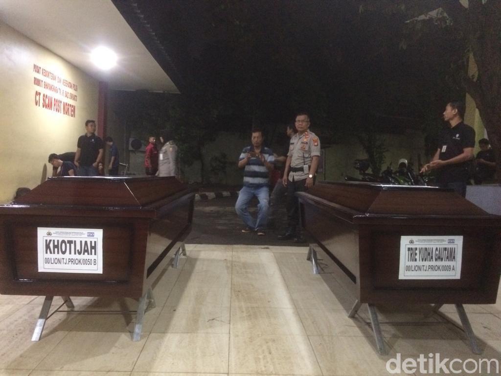 2 Jenazah Korban Lion Air PK-LQP Diserahkan ke Keluarga