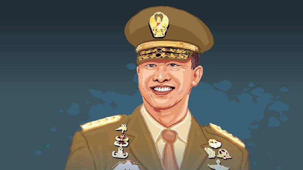 Karier Cemerlang Jenderal Andika Perkasa