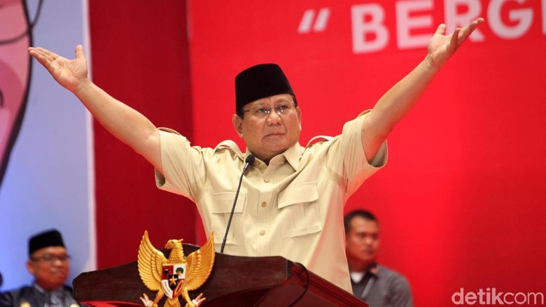BPN: Survei Internal Prabowo-Sandi 40%, Januari Salip Jokowi