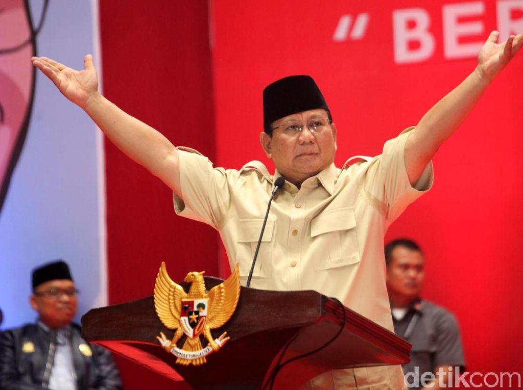 Prabowo Juga Mau Tanami Lahan Rusak Singkong hingga Jagung