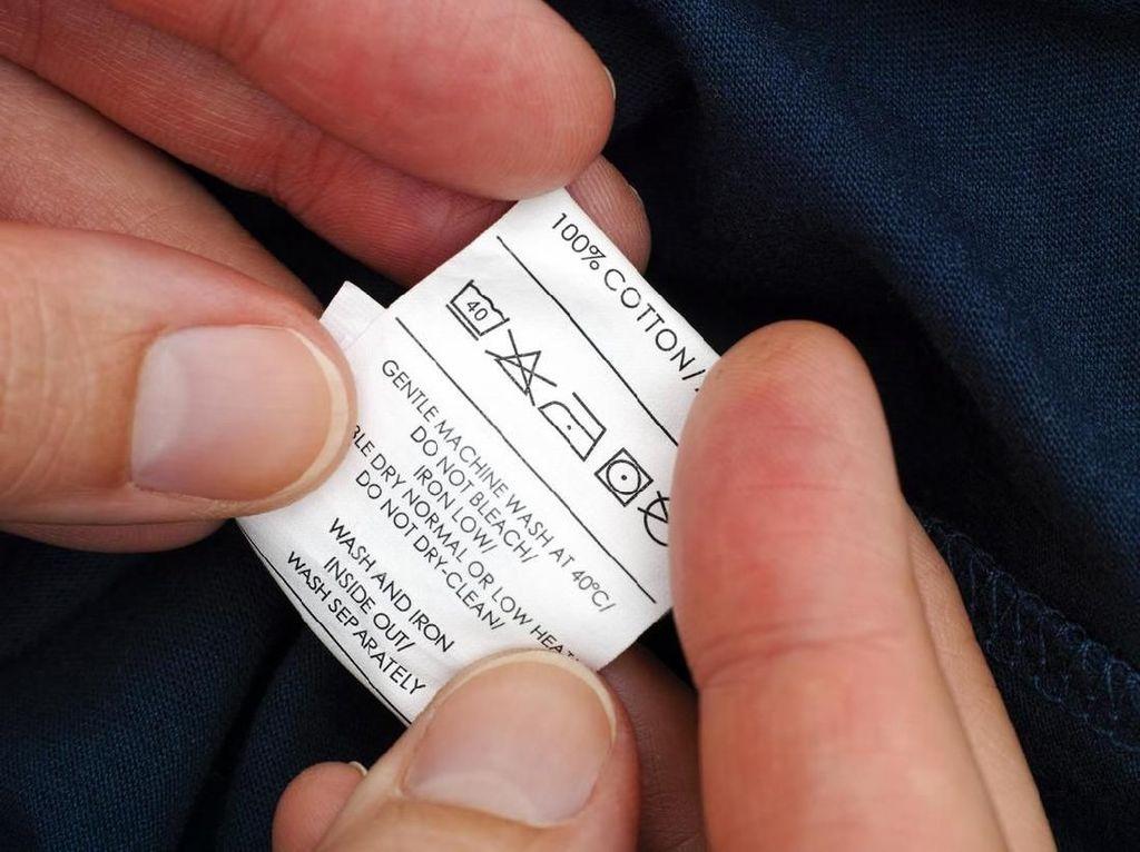 Simbol-simbol Pada Tag Pakaian yang Tak Boleh Diabaikan