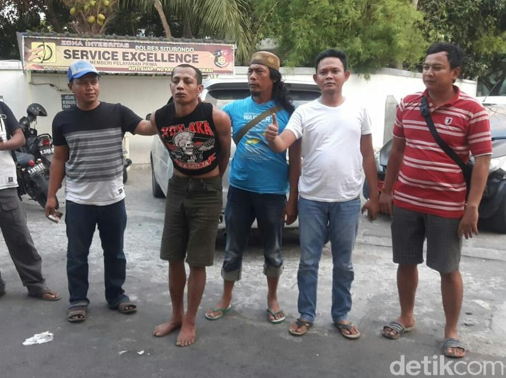 Hendak Kabur dengan Angkutan Umum, Buron di Situbondo Disergap Polisi