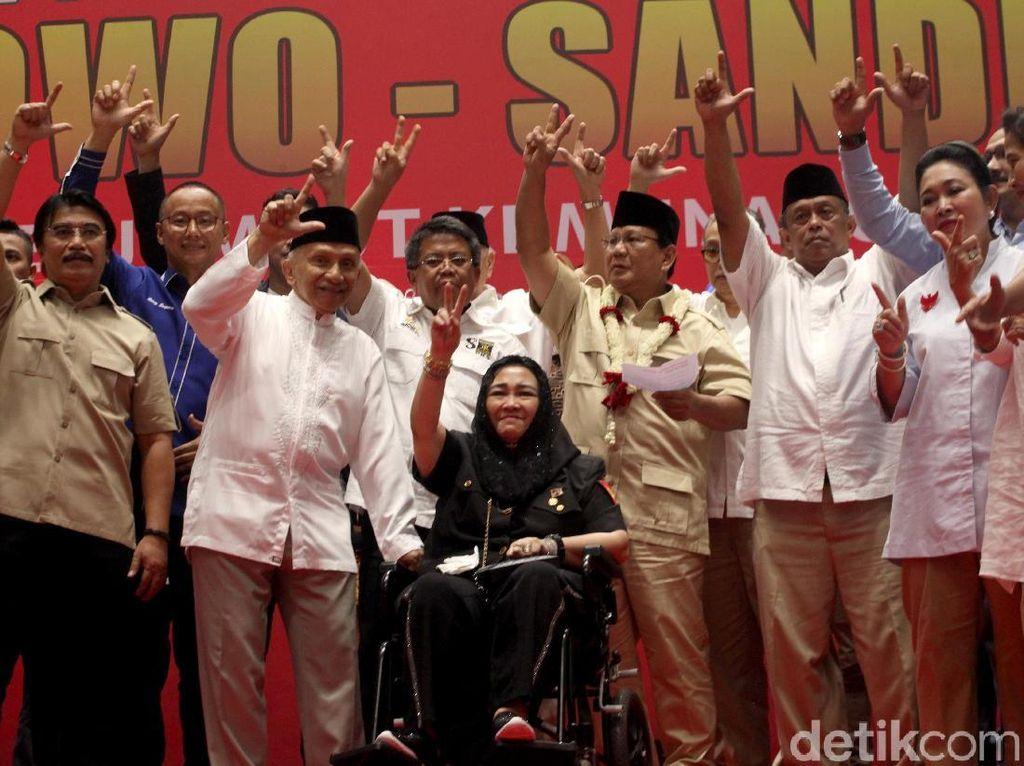 Singgung Anak Sukarno-Soeharto Satu Koalisi, Prabowo: Gue Capresnya