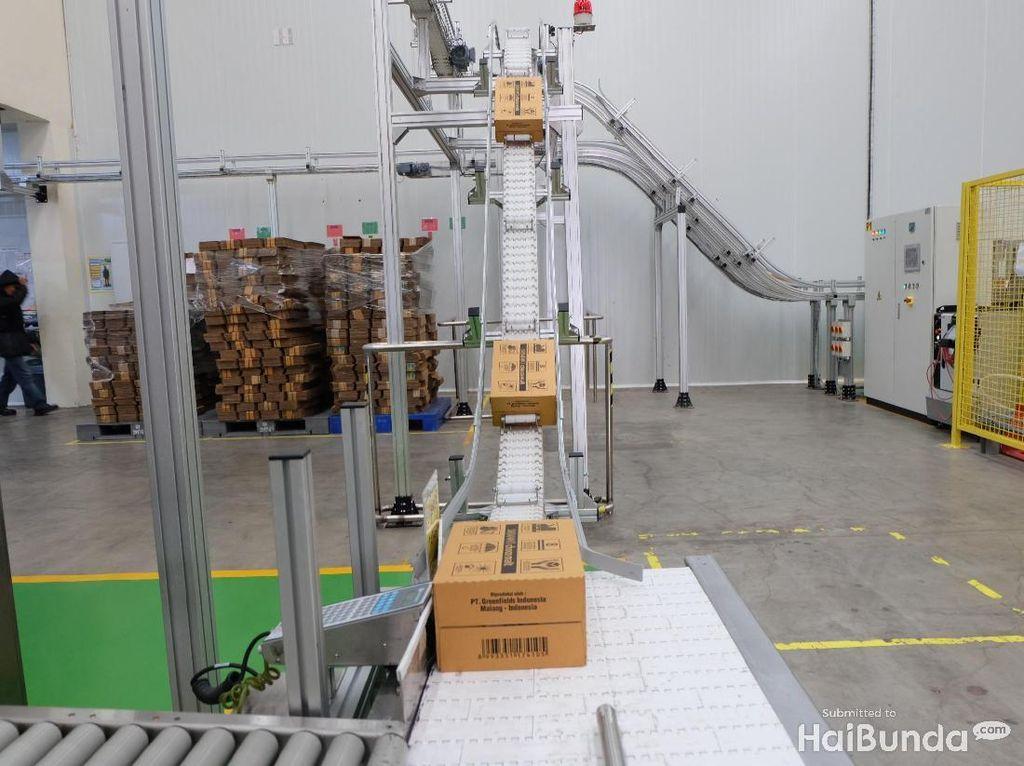 Yuk Intip Proses Produksi Susu dalam Kemasan, Bun