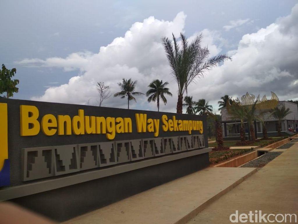Pembangunan Bendungan Way Sekampung Capai 53%