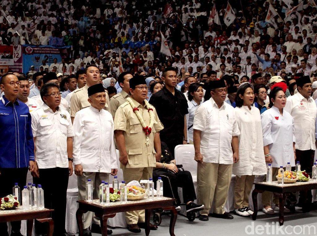 Amien Rais Hingga Ahmad Dhani Jadi Relawan Prabowo-Sandi