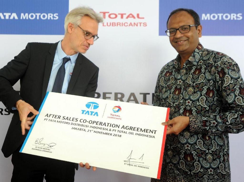 Kerjasama Layanan Purna Jual Tata Motor dan Total