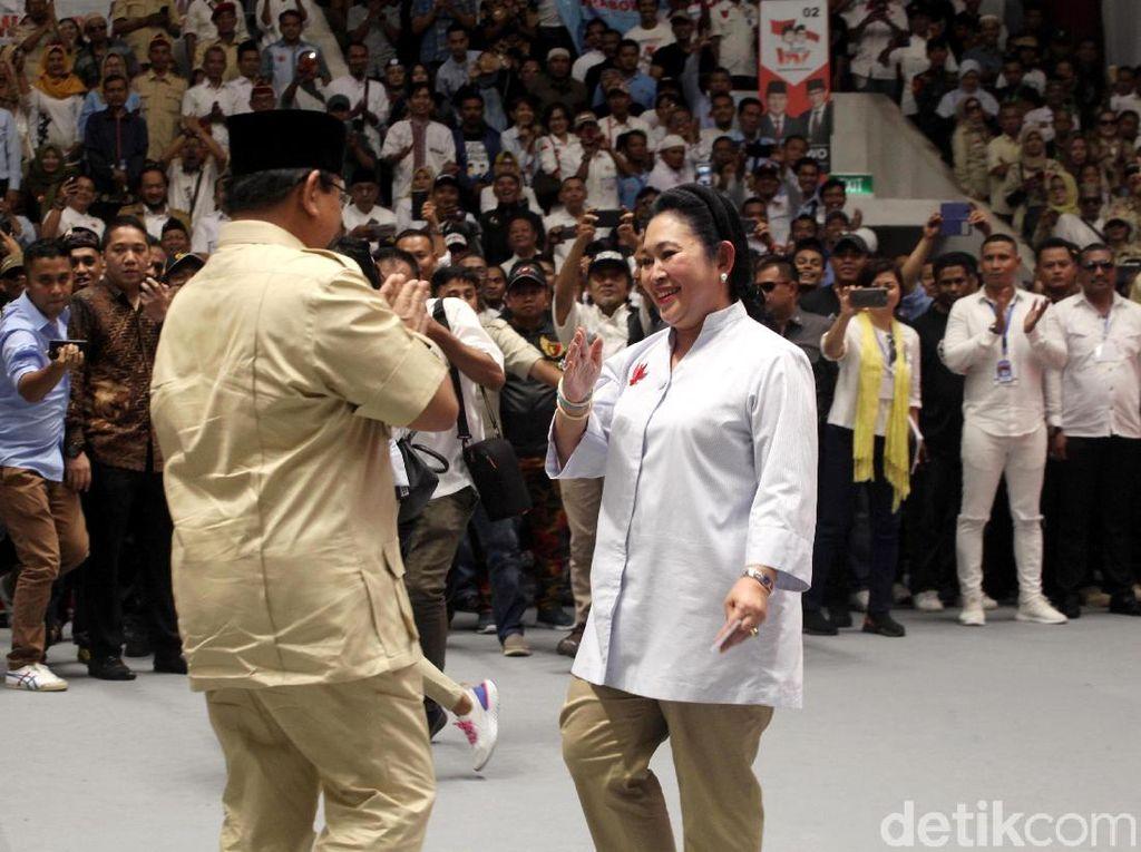 Kode Titiek Soeharto Ibu Negara Prabowo