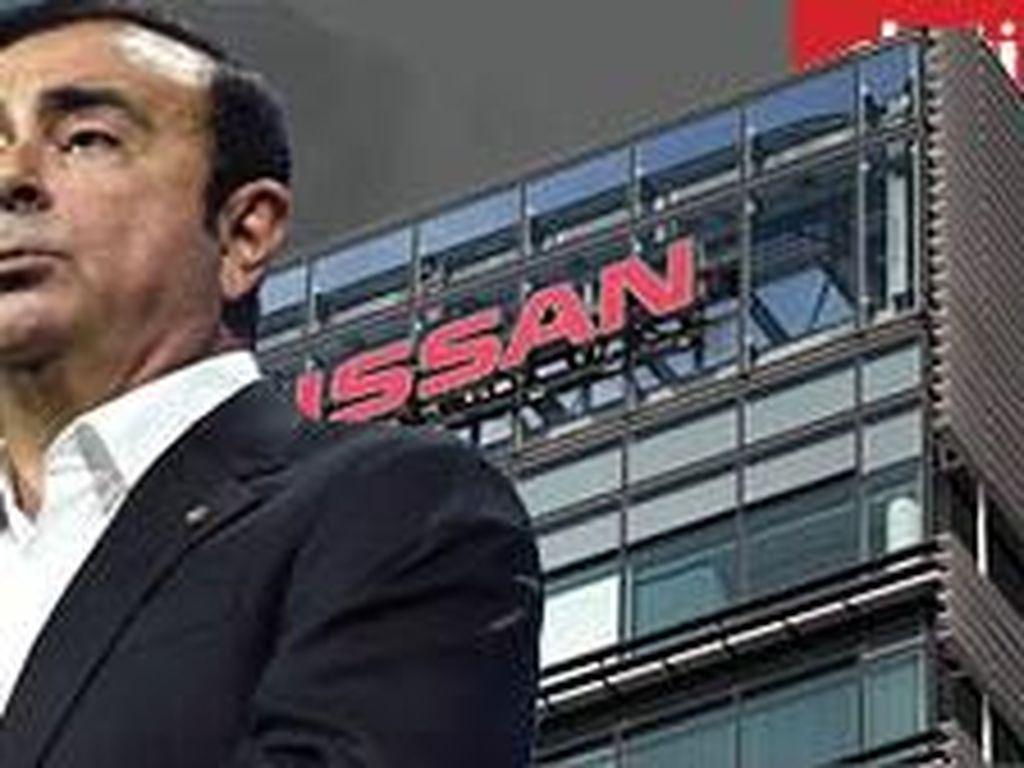 Saham Anjlok, Nissan Dicela Carlos Ghosn