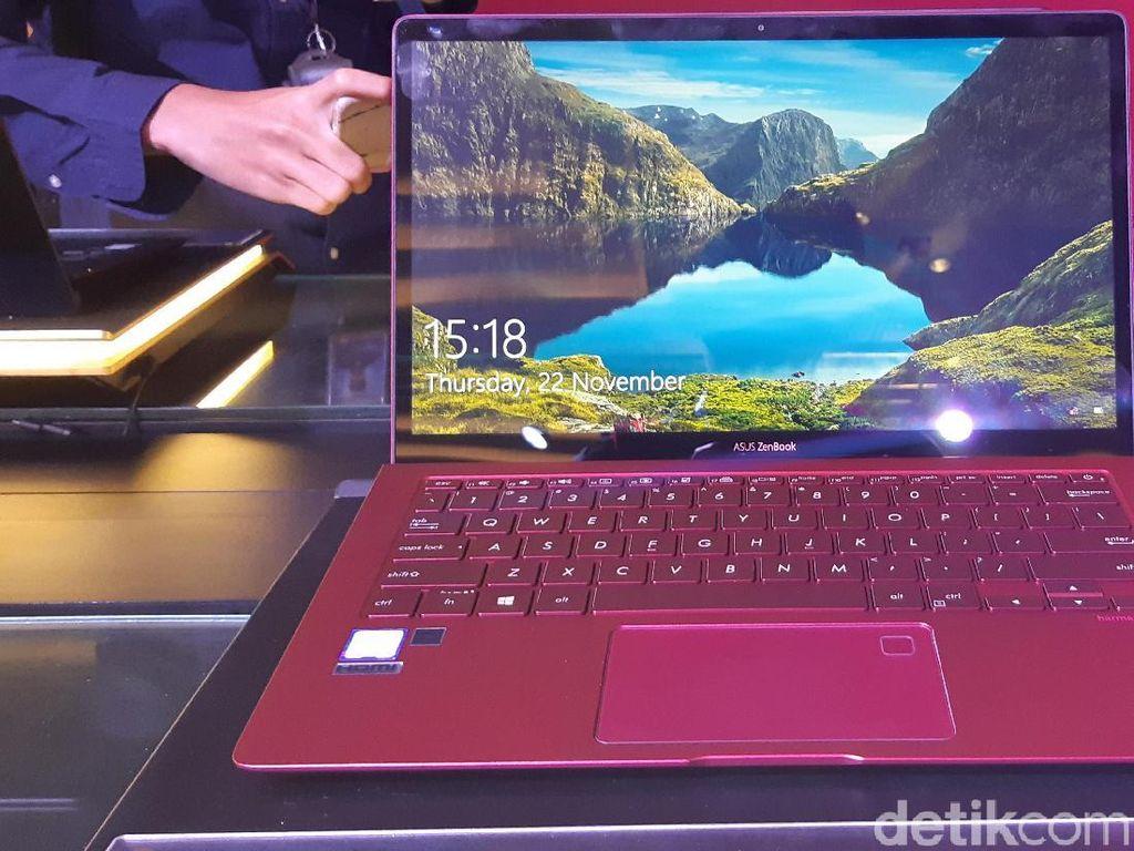 Laptop Premium Asus Zenbook S Hadir dengan Kelir Burgundy Red
