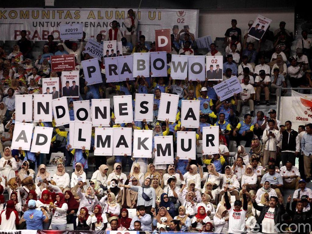 PBB Ikut Pembekalan Relawan, Prabowo: Kalau Nggak Hadir Kebangetan