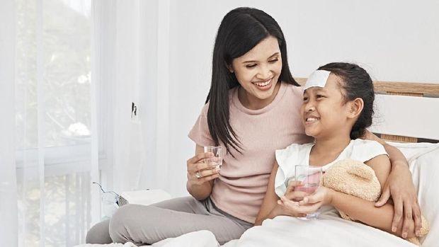 Ilustrasi paracetamol untuk anak