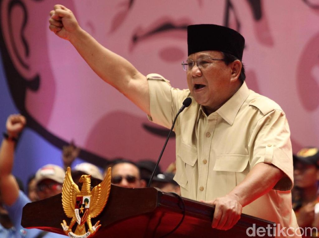 Prabowo: Di Sragen, 1 Jam dari Solo, Rakyat Sulit Air