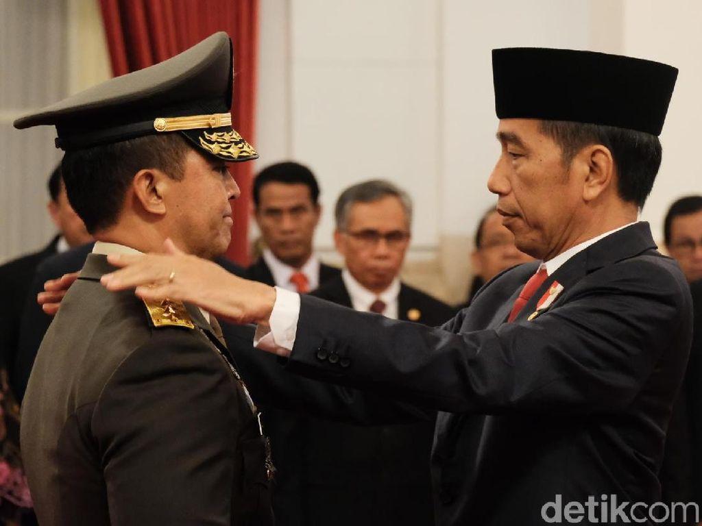 Andika Perkasa Resmi Dilantik Jadi KSAD Gantikan Jenderal Mulyono