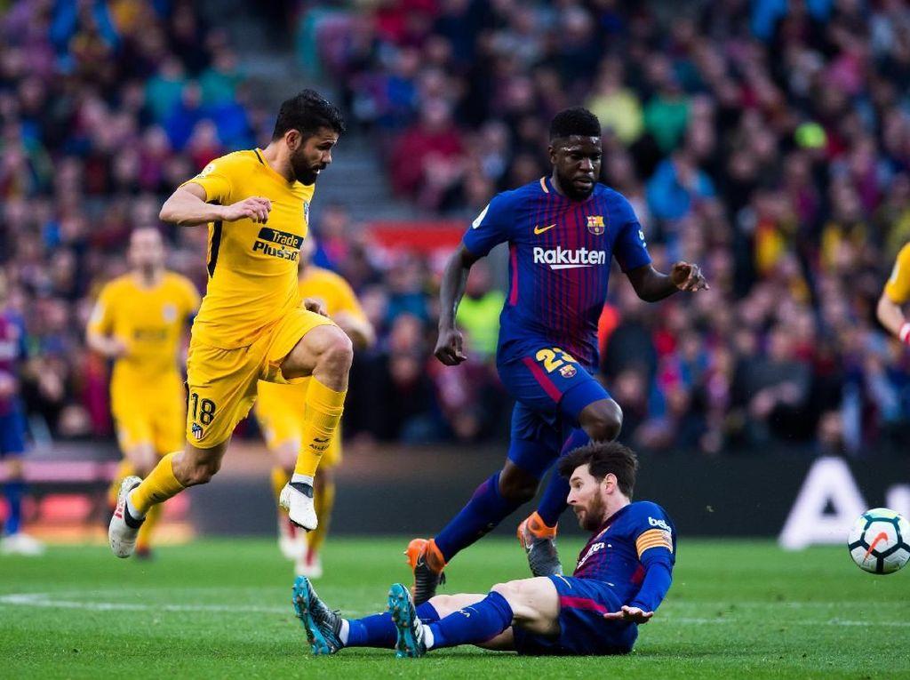 Jelang Atletico vs Barcelona: Menagih Gol dari Diego Costa