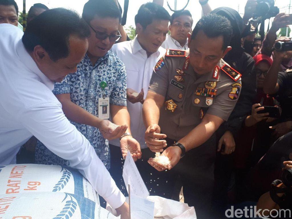 Satgas Pangan Gelar Operasi di Pasar Induk Cipinang
