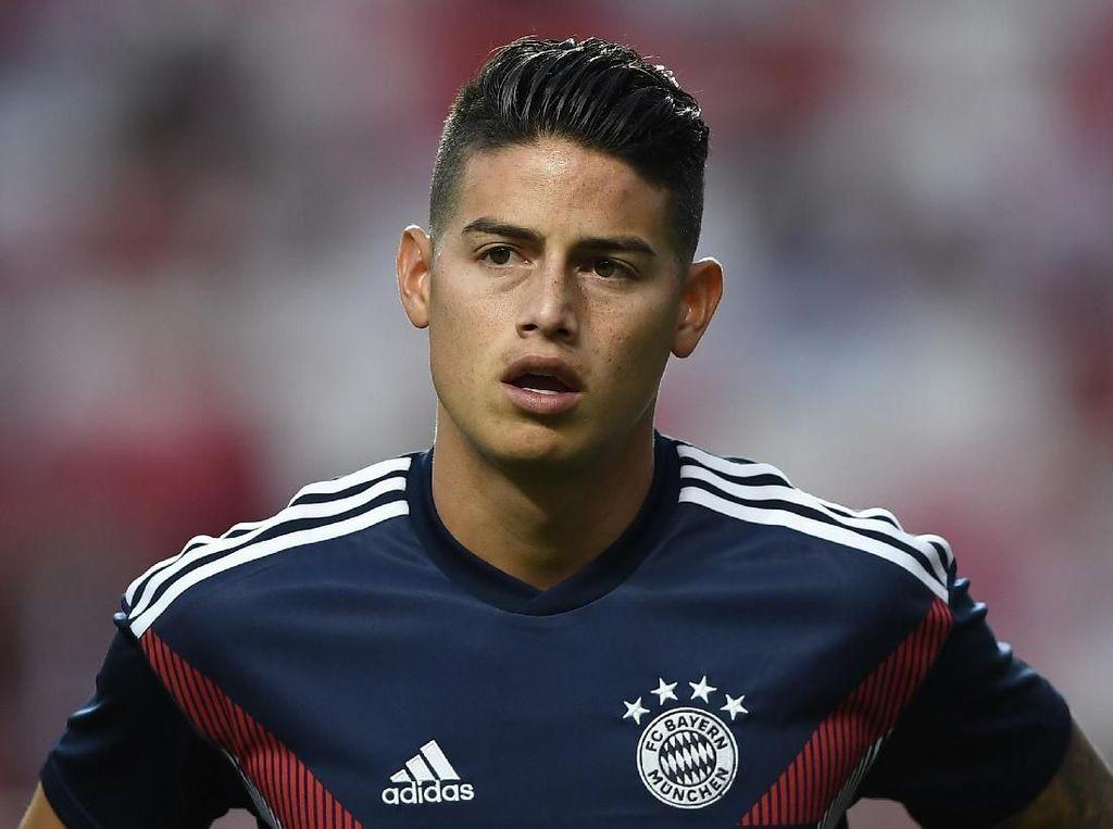 Rumor Transfer: Bukan Juventus, James Rodriguez Menuju Napoli?