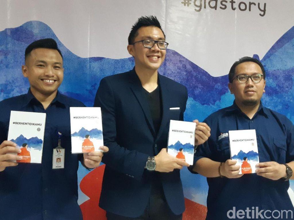 Novel #BerhentiDiKamu Karya Dokter Gia Pratama Akhirnya Lahir di Bandung