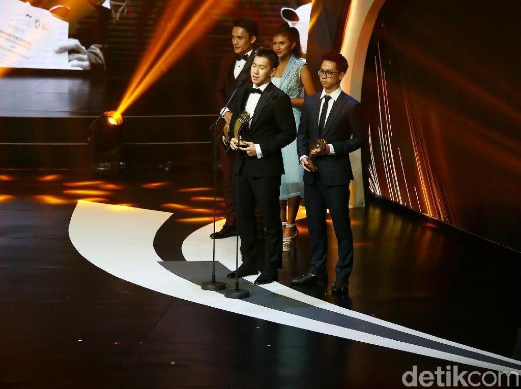 Menangi Indonesian Sport Awards, Marcus/Kevin: Bahagia Sudah Diapresiasi