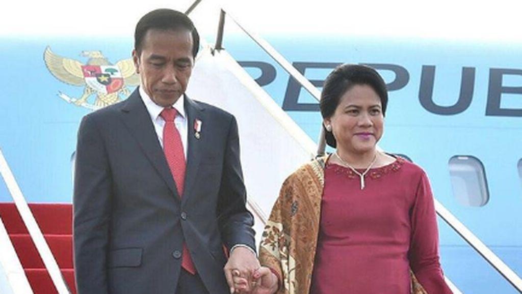 5 Ibu Negara Tampil Kekinian Pakai Sneakers, Iriana Jokowi Kenakan Gucci