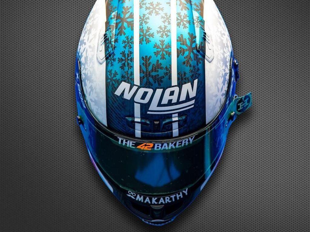 Winter Is Coming! Kerennya Helm Rider MotoGP Edisi Musim Dingin