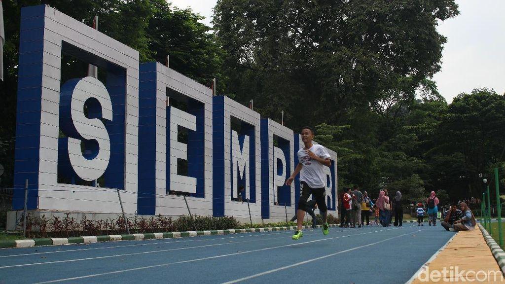 Mandi Keringat di Lapangan Sempur, Jogging Track Paling Hits di Kota Bogor