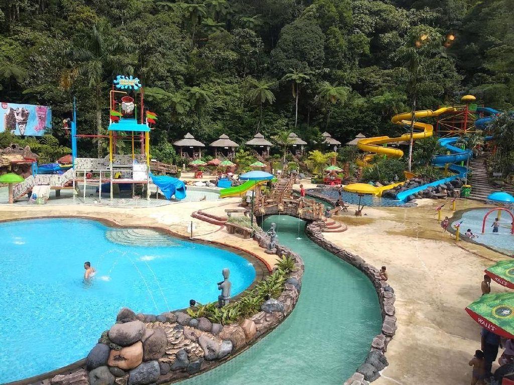 Berenang Bareng Buaya di Safari Water Park Bogor, Siapa Berani?