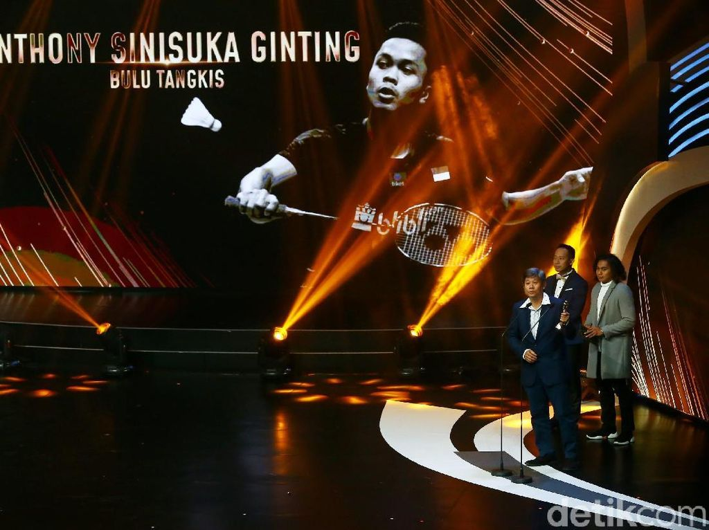 Anthony dan Lindswell Terfavorit di Indonesian Sport Awards