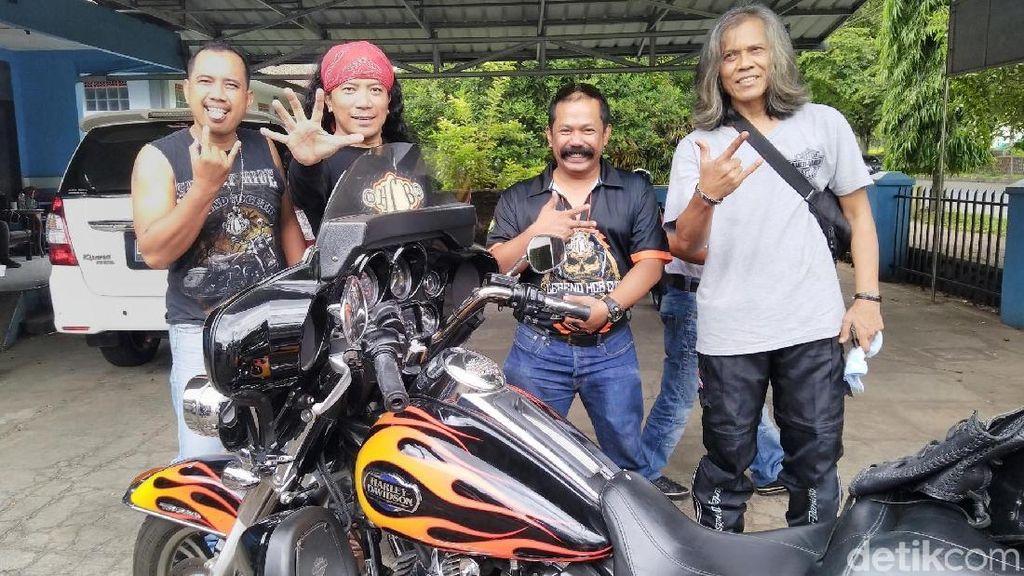 Komunitas Harley Touring ke Pangandaran
