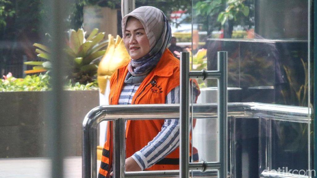 Bupati Nonaktif Bekasi Neneng Hasanah Kembali Diperiksa KPK